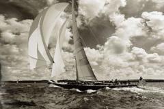 Скинали яхты и дельфины