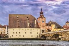 Скинали мост Регенсбург