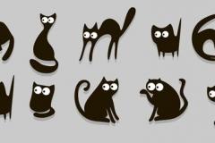 Скинали черные кошки