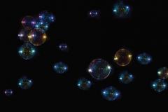 Скинали мыльные пузыри