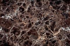 Скинали мрамор темно  коричневый